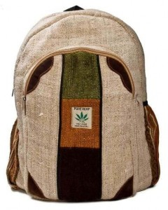 Backpack from natural fibers Rolpa