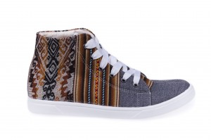 Sneakers Inkamos Alto Marron